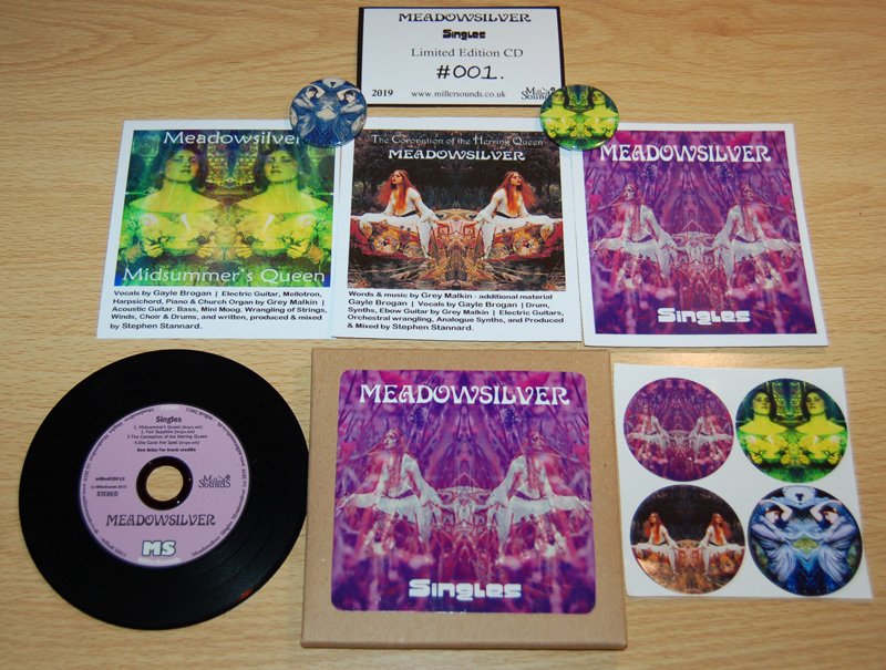 Meadowsilver Singles e.p limited CD edition